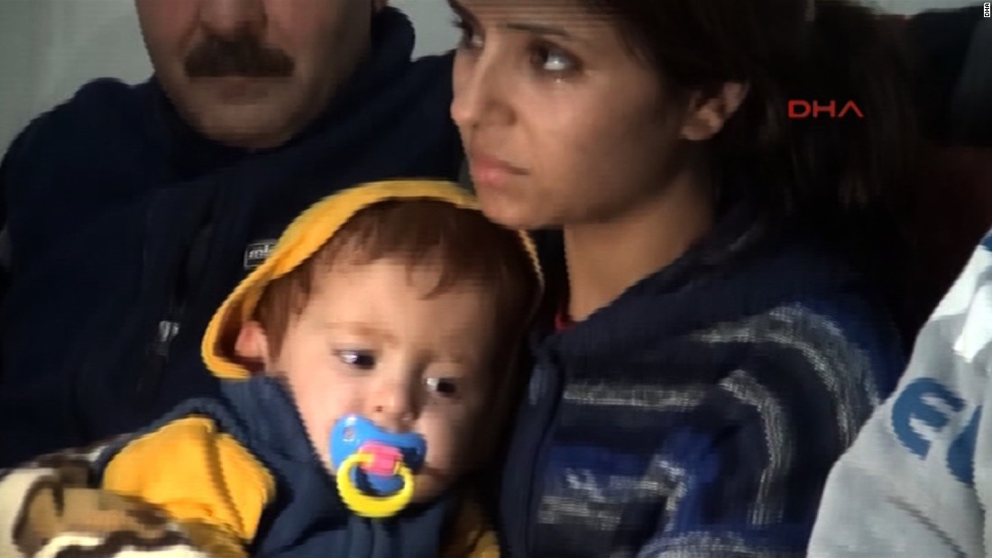 "In October, fishermen rescued an 18-month-old boy from the Aegean Sea after a boat carrying refugees capsized. Click through for more amazing stories of survival, including the saga of the Chilean miners, a man aboard the Costa Concordia and the ""miracle babies"" of the Mexico earthquake."