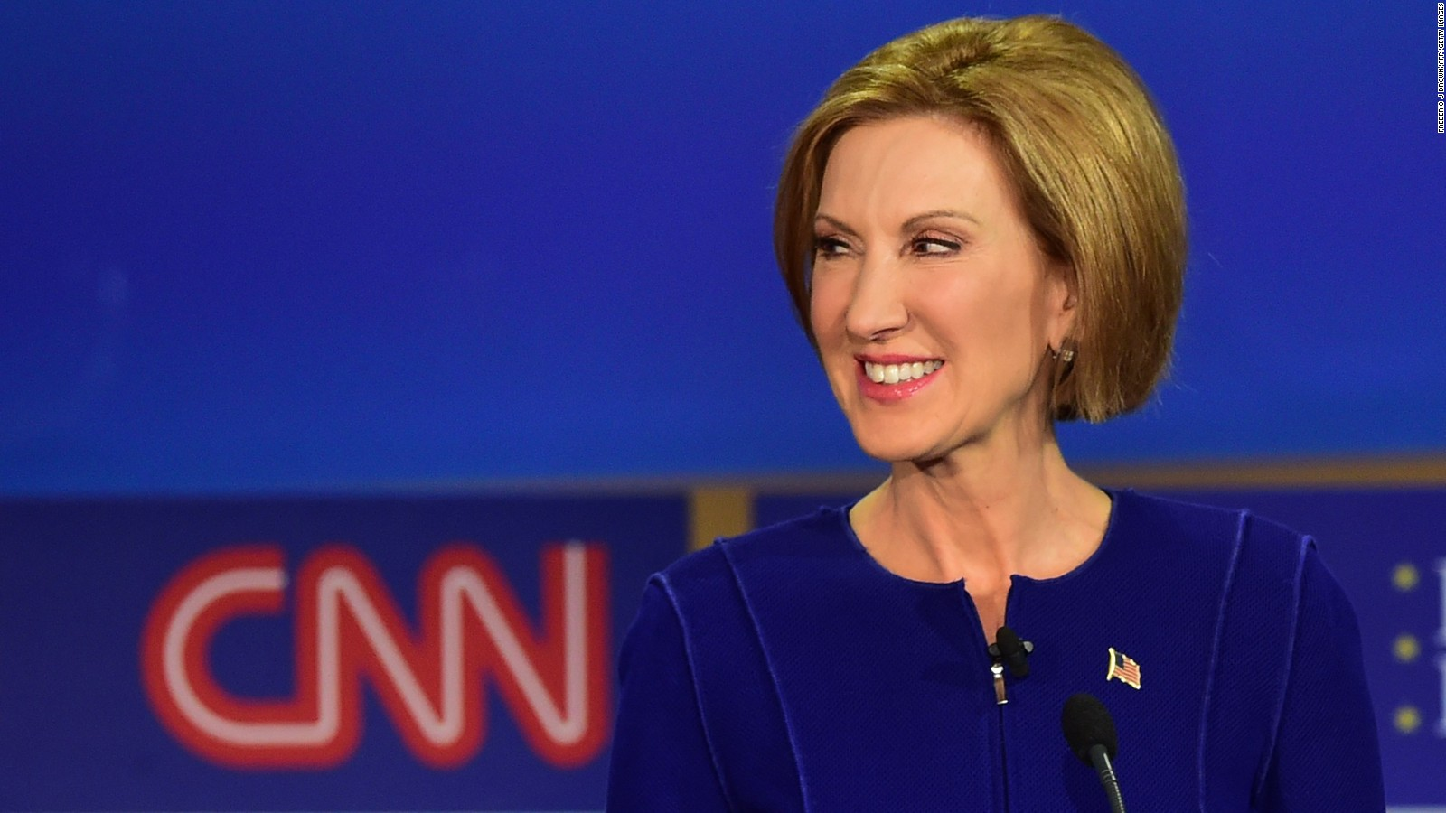 Can the Republican debate save Carly Fiorina?