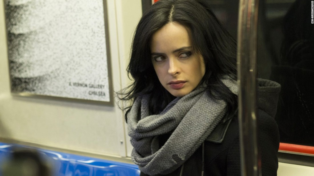 "Krysten Ritter is winning over fans and critics in ""<a href=""http://www.cnn.com/2015/11/19/entertainment/jessica-jones-netflix-feat/"">Jessica Jones</a>,"" the story of a semiretired superhero turned private eye based on Marvel Comics' ""Alias."" It's the latest comic book adaptation for adults about an ongoing mystery in Jones' life that's hard to interrupt once you load the series on Netflix."