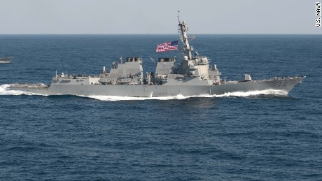 150312-N-UG232-874WATERS TO THE EAST OF THE KOREAN PENINSULA (March 12, 2015) The guided-missile detroyer USS Lassen (DDG 82) is underway in formation with the Republic of Korea patrol craft Sokcho (PCC 778) during exercise Foal Eagle 2015. Foal Eagle is a series of annual training events that are defense-oriented and designed to increase readiness and maintain stability on the Korean Peninsula while strengthening the ROK-U.S. alliance and promoting regional peace and stability of the Indo-Asian-Pacific region. (U.S. Navy Photo by Mass Communication Specialist 1st Class Martin Wright/Released)