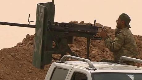 kurdish fighters vs ISIS ward pkg cnni_00003214
