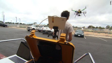 NS Slug: FILE-WALMART LOOKING INTO DRONE DELIVERY  Synopsis: Wal-Mart seeks FAA permission to test drones outside for delivery and distribution.  Keywords: BUSINESS RETAILING AIRCRAFT FEDERAL AVIATION ADMINISTRATION