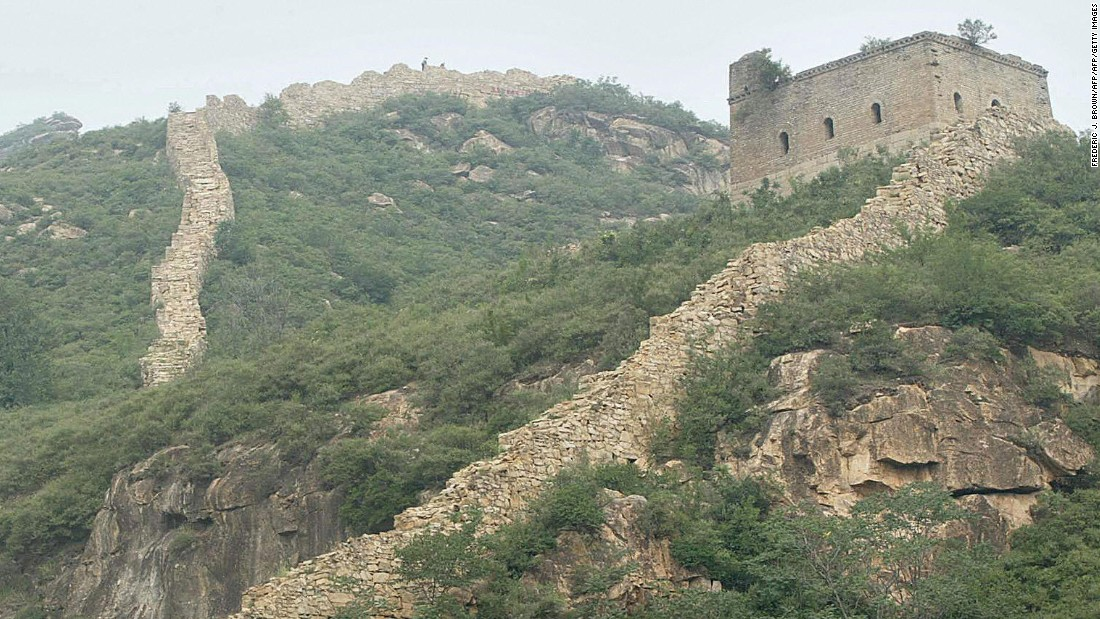 The Great Wall was initially build as a military defense system against invasions from the north. Construction of the wall began in the 3rd century BC to the 17th century AD.