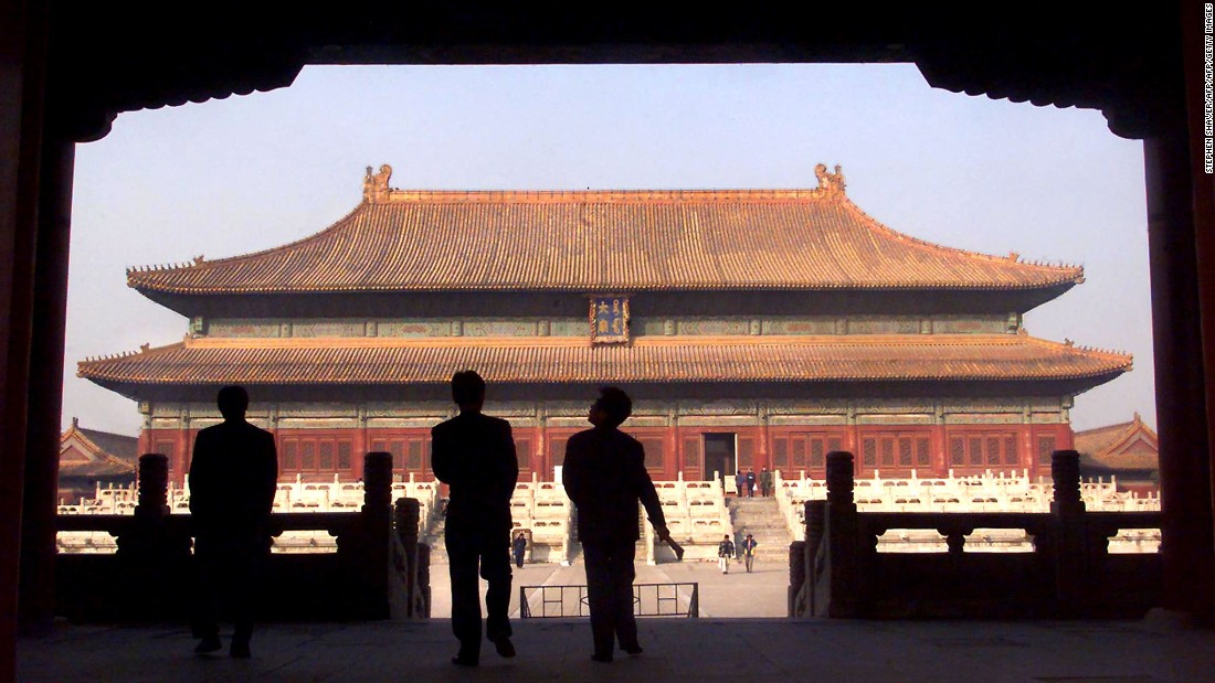 The Forbidden City served as home for the Chinese government, for over five centuries. It was the residence to emperors of the Ming and Qing dynasties from the 15th to 20th century.