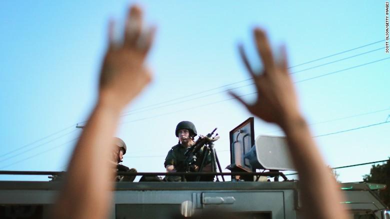 U.S. Department of Justice suing Ferguson