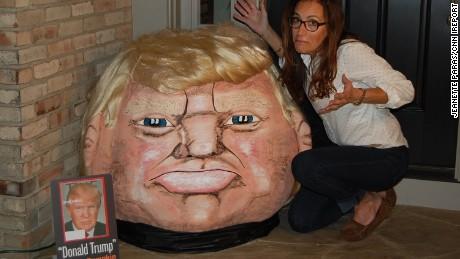 Trump pumpkin tease
