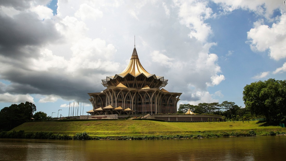 """It's one of the most beautiful places on Earth, as remote and as different from where I grew up as any place could be,"" <a href=""http://www.cnn.com/2015/10/31/travel/borneo-travel-journal-anthony-bourdain/"">Bourdain said of Borneo</a>. ""The people are lovely -- and the food, as everywhere in Malaysia, incredible."""