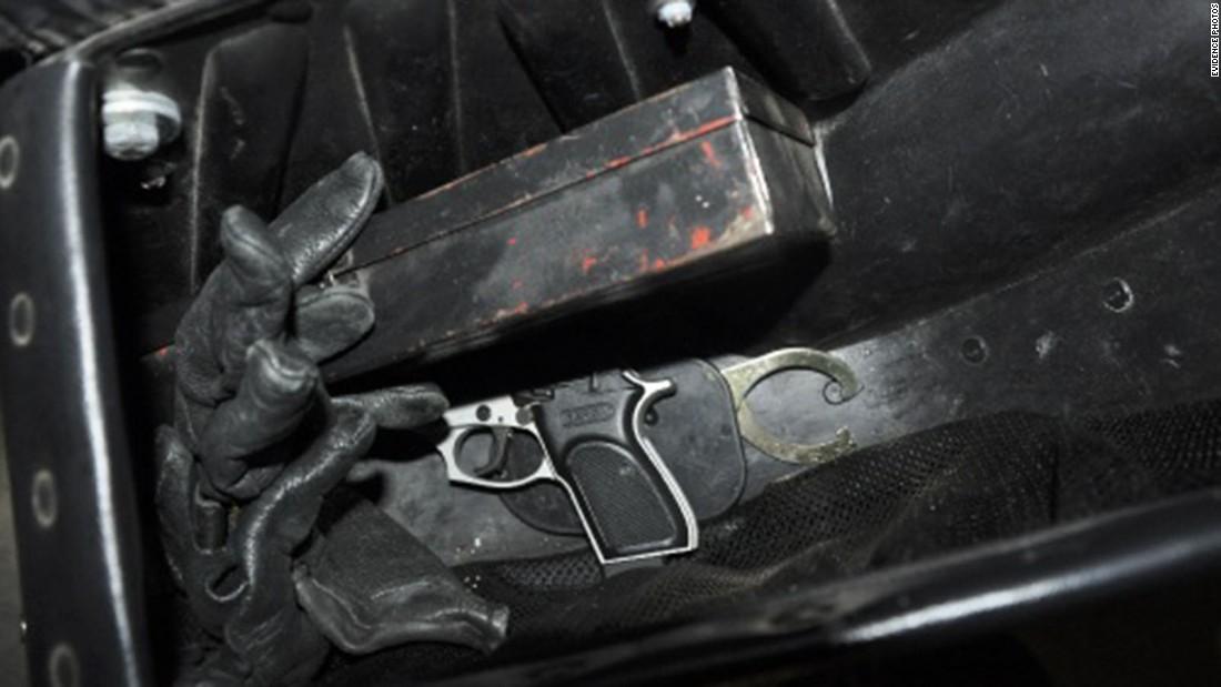 Twelve long guns and 133 handguns were recovered.