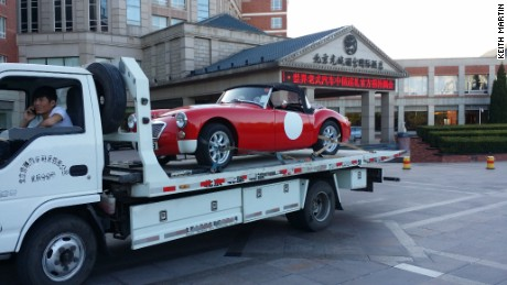 A 1958 MG MGA arrives via Hong Kong. Wong, who's coming from Hong Kong, is the owner of the 1959 Hongqi CA72 saloon by FAW Automotive, a new luxury Chinese marque. <br><br>This 1914 classic car will be still racing today<br><br>Other complications facing organizers included obtaining foreign drivers licensed, registering old vehicles for use on the road, having to end up being able to pay import deposits (which can exceed the value of the vehicle itself) and attaining approval via nearby governments that will oversee the actual dozens of towns, cities and also villages along the route.