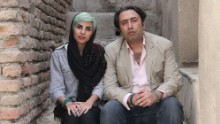 Fatemeh Ekhtesari, left, and Mehdi Musavi are pictured in an undated photo made available by International Campaign for Human Rights in Iran.