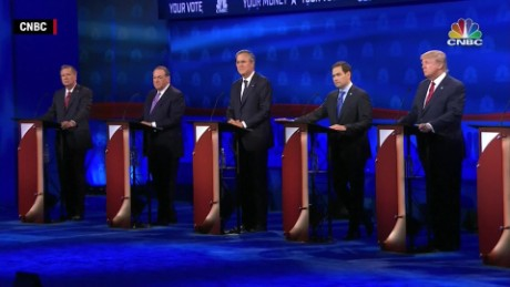 round two candidates cnbc gop debate biggest weakness orig_00000000