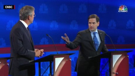 Rubio and Bush go head-to-head