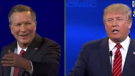 Donald Trump John Kasich CNBC GOP debate fracking vstan jnd orig sot_00010628
