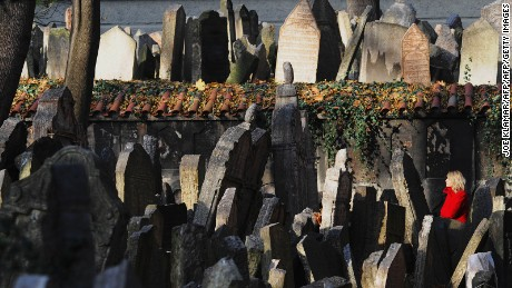 Old Jewish Cemetery. We're not being agist, that's actually the name.
