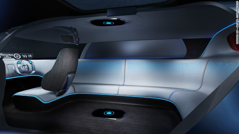 The Mercedes Vision Tokyo features a 'lounge seating' interior.