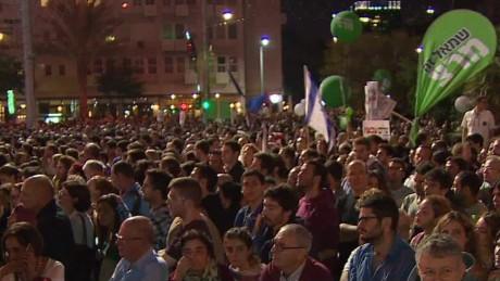 yitzhak rabin assassination rally liebermann cnni nr lklv_00001726