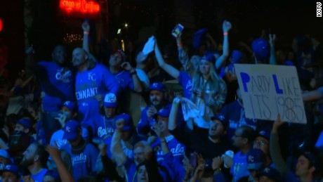 Kansas City Royals clinch World Series title