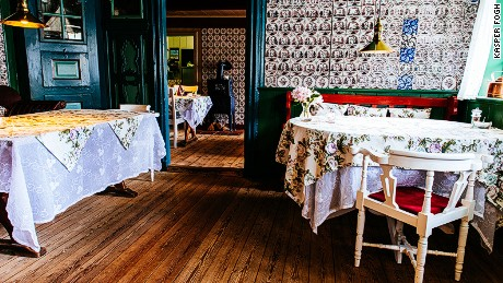 Sonderho Kro inn is perfectly located to make use of Fanoe's ready supplies of oysters and lamb.