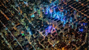 Photographer Vincent Laforet captures mega-cities from 12,000 feet