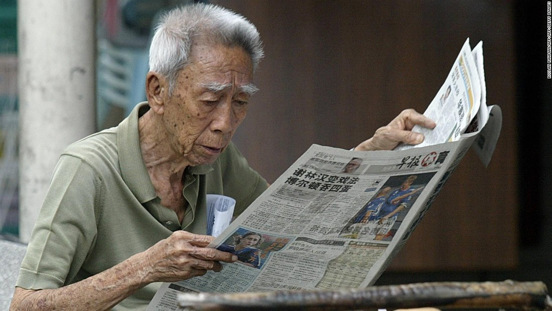 After Japan, Singapore has Asia's highest life expectancy at age 60.