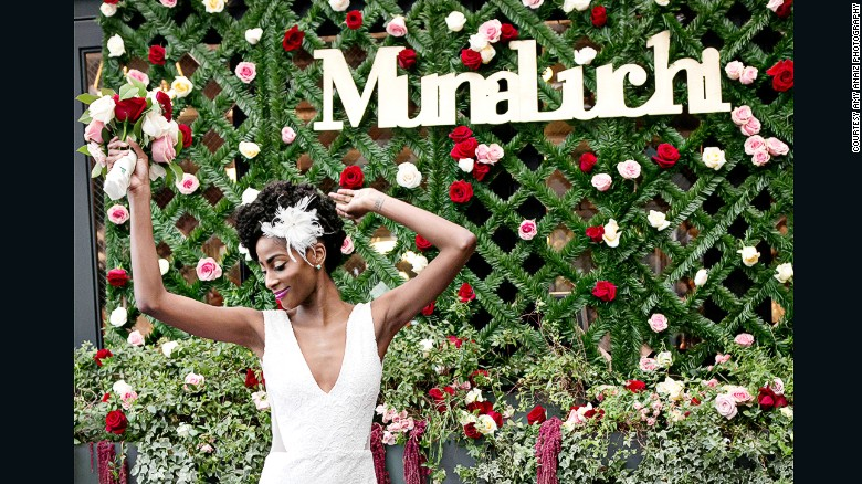 Jackie Nwobu started the MunaLuchi bridal magazine without any experience in the publishing industry. Today, it's one of the leading U.S. wedding magazines catered to women of color.