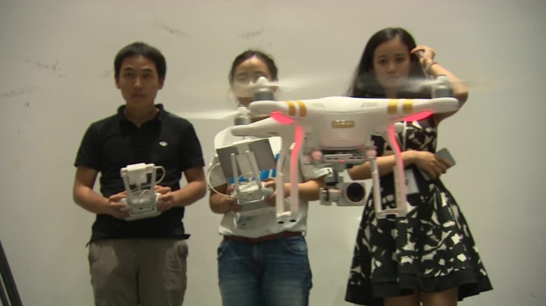 Drone maker DJI explains why being in China has given it a leg-up on the competition.