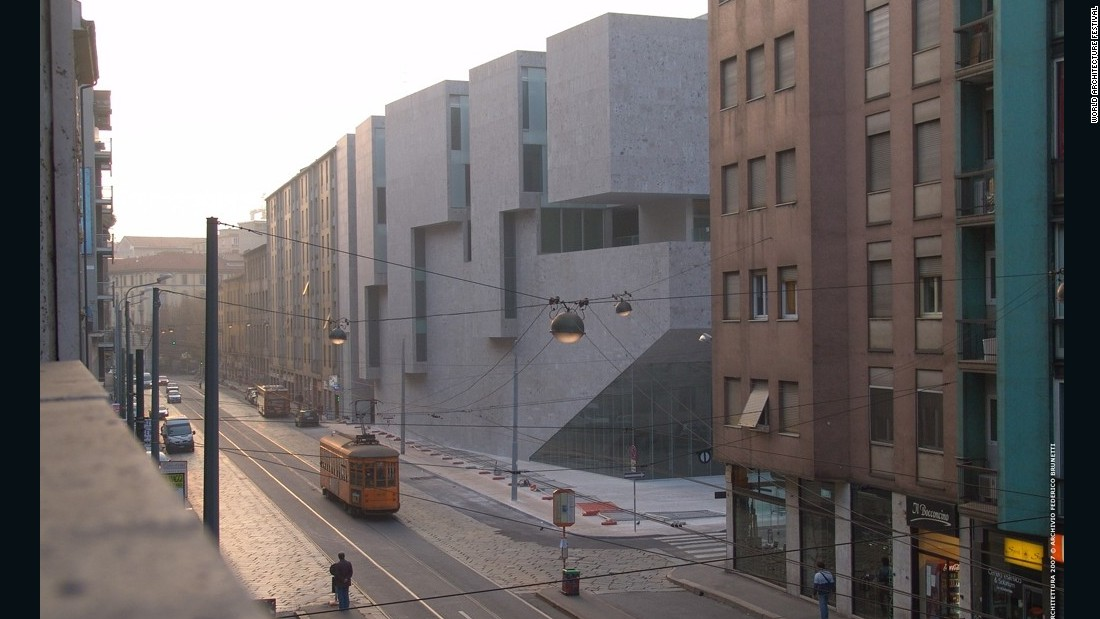 The first ever World Architecture Festival was held in 2008. The winners of the first ever 'Building of the Year' award was Grafton Architects, an Irish practice, who received the top prize for their Universita Luigi Bocconi in Milan.