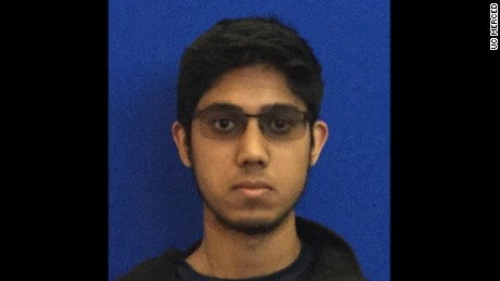 UC Merced freshman Faisal Mohammad, the deceased suspect in the stabbing of four people at the school on Wednesday, November 4. He was shot and killed by University Police.