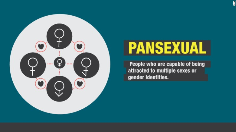 "The word ""pansexual"" has been gaining currency culturally, with Google searches for the term trending highly since Miley Cyrus used it to describe herself in July. It's one of several terms people are increasingly using to codify their sexual orientation or gender. These definitions, which have been edited, are from the LGBTQ advocacy group The Trevor Project. <a href=""http://www.thetrevorproject.org/pages/glossary#"" target=""_blank"">Visit the site for more details</a>."