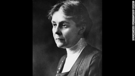 American toxicologist Alice Hamilton (1869 - 1970), circa 1925. She was the first woman appointed to the faculty of Harvard University. (Photo by FPG/Getty Images)