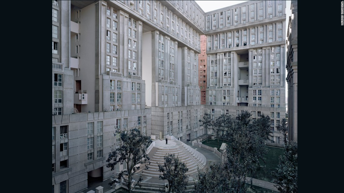 Joseph, 88, Les Espaces d'Abraxas, Noisy-le-Grand, 2014<br /><br />Laurent Kronental's breathtaking photographs unite the colossal, futuristic buildings of Paris housing estates and the senior citizens who live among them. The buildings have been used as backdrop in several Hollywood films, including the most recent <em>Hunger<em></em> Games </em>installment. Scroll through the gallery to see his incredible images.