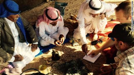 CNN met Bedouin sheikhs heading three prominent Sinai tribes.