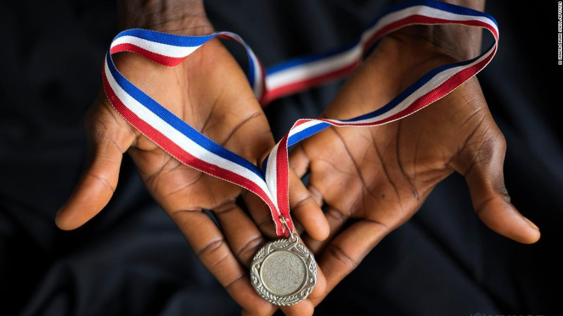 "Since 2006, Kopati has competed several times in the national championships for high jump, long jump and 400-meter run -- winning the gold medal for high-jump in 2009.<br /><br />""In 2009, I won the gold medal in long jump in the national championships. I cleared 1.7 meters. I entered my last competition in 2012, before I was forced to flee."""