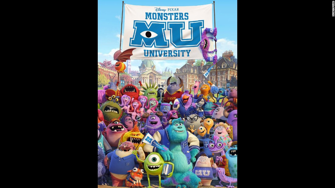 Mike, Sulley and the gang returned for this prequel about the main characters' college days. Worldwide box office: $744 million.