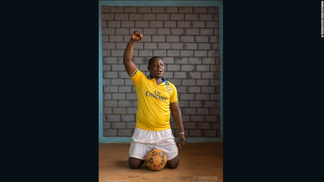 "Jason Nyakouna, 32, played for Tempete Mocaf, a first-division soccer club in Bangui, and then for Kpètene Star, before he fled the CAR on December 5, 2013. <br /><br />""I went to play competitions in Sao Tome, Nigeria, Guinea and Cameroon. After that I went to play for Kpetene Star. The team was in the second division, and I helped them join the first division."""