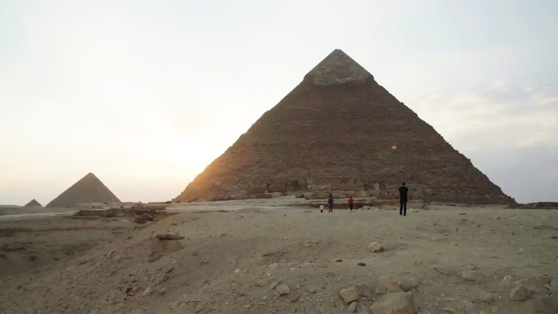 Mysterious 'void' in Great Pyramid of Giza