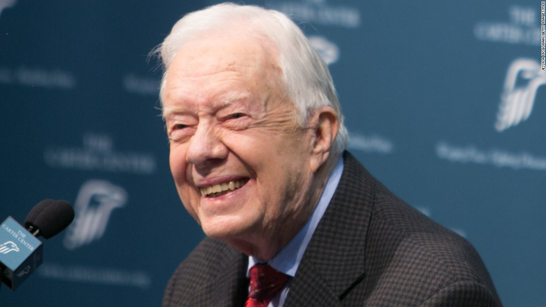 Jimmy Carter: I'd go to work with Trump