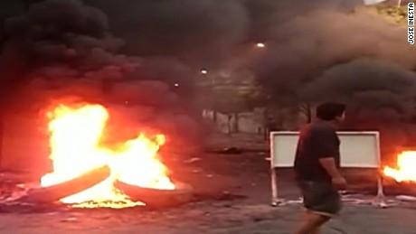 Protest in Tucuman, Argentina