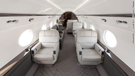 The G650 is Gulfstream's biggest and fastest business jet.