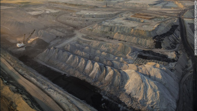 Some of the world's largeset coal mines are in the Powder River Basin, which spans parts of Wyoming and Montana.