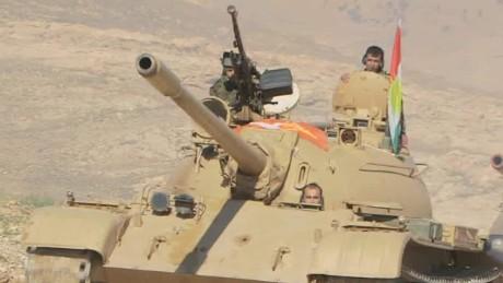 Kurdish push in Sinjar
