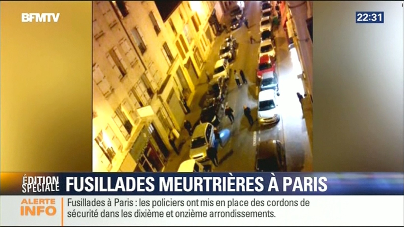 Several killed in shooting outside Paris restaurant