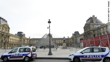 The Louvre art museum reopened Monday following becoming closed in the wake with the attacks.