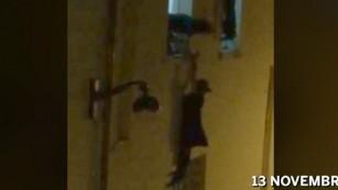 Hostages flee The Bataclan concert hall