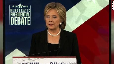 CBS Democratic Debate