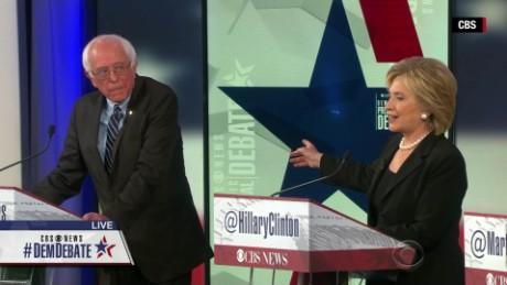The CBS News Democratic debate in 2 minutes