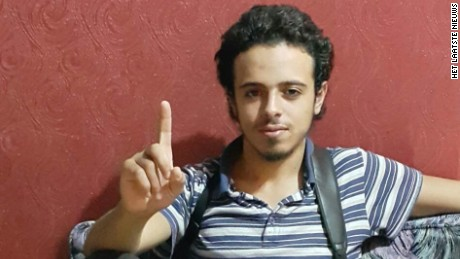 'Sources say Bilal Hadfi was one of the three suicide bombers at a stadium in Paris' from the web at 'http://i2.cdn.turner.com/cnnnext/dam/assets/151116015733-paris-attacker-bilal-hadfi-large-169.jpg'
