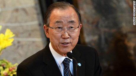 United Nations Secretary-General Ban Ki-moon/