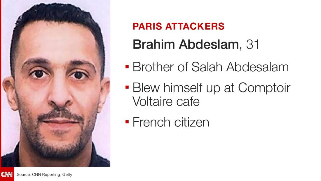 Paris Attack suspect Ibrahim Abdesalam