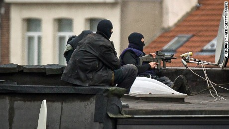 The search for Paris terror suspects